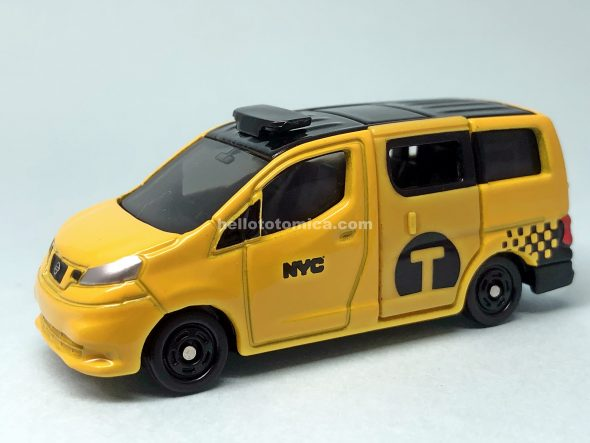27-11 NISSAN NV200 NEW YORK CITY TAXI はるてんのトミカ