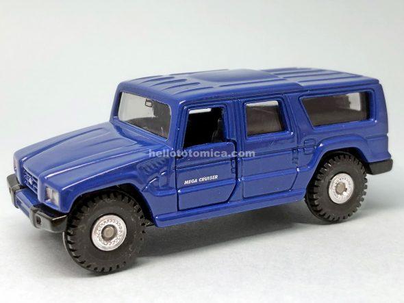 3-5 トヨタ メガクルーザー (ブルー仕様車) はるてんのトミカ