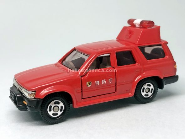 112-3 TOYOTA HILUX SURF COMMAND CAR はるてんのトミカ