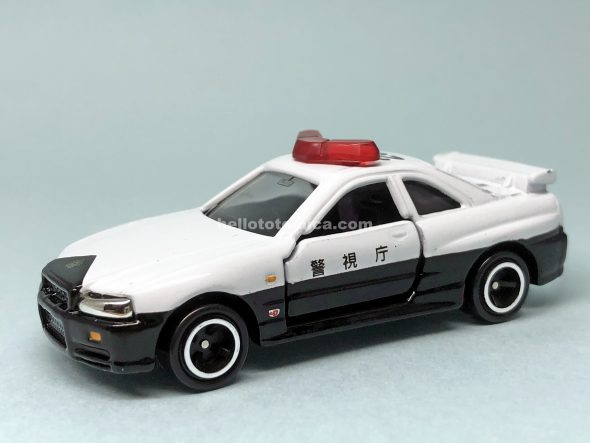 20-8 SKYLINE GT-R R34 PATROL CAR はるてんのトミカ