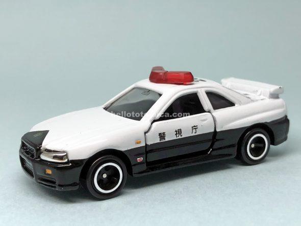 20-8 スカイライン GT-R R34 パトロールカー はるてんのトミカ