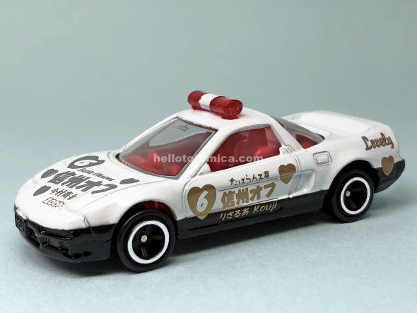 120-3 ホンダ NSX パトロールカー 信州オフペースカー IM-606 はるてんのトミカ