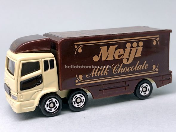 7-4 MITSUBISHI SUPER GREAT TRUCK MEIJI はるてんのトミカ