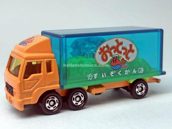 69-5 おっとっと 水族館トラック はるてんのトミカ