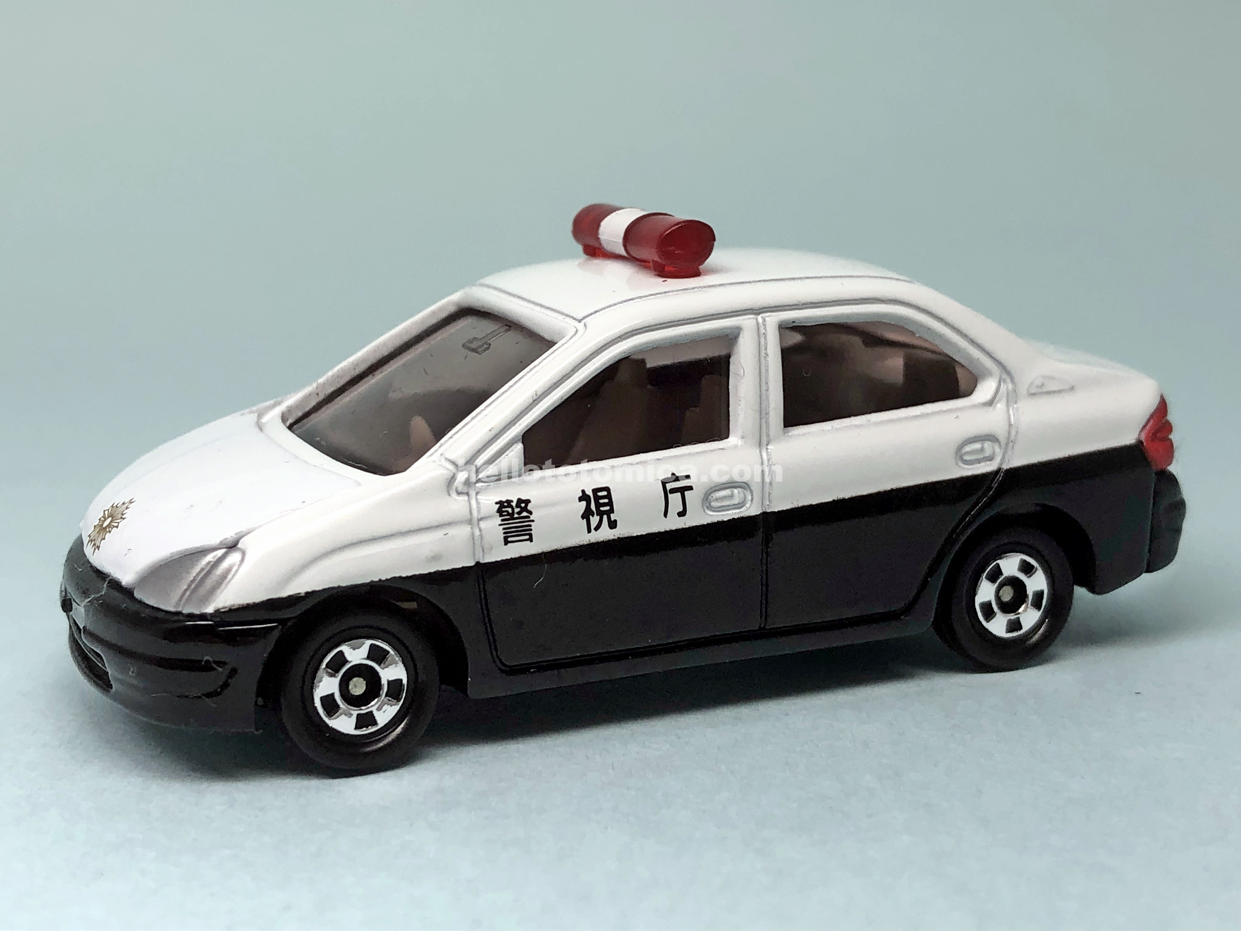 86-3 TOYOTA PRIUS PATROL CAR