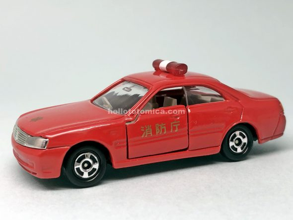 87-4 NISSAN CEDRIC FIRE CHIEF はるてんのトミカ