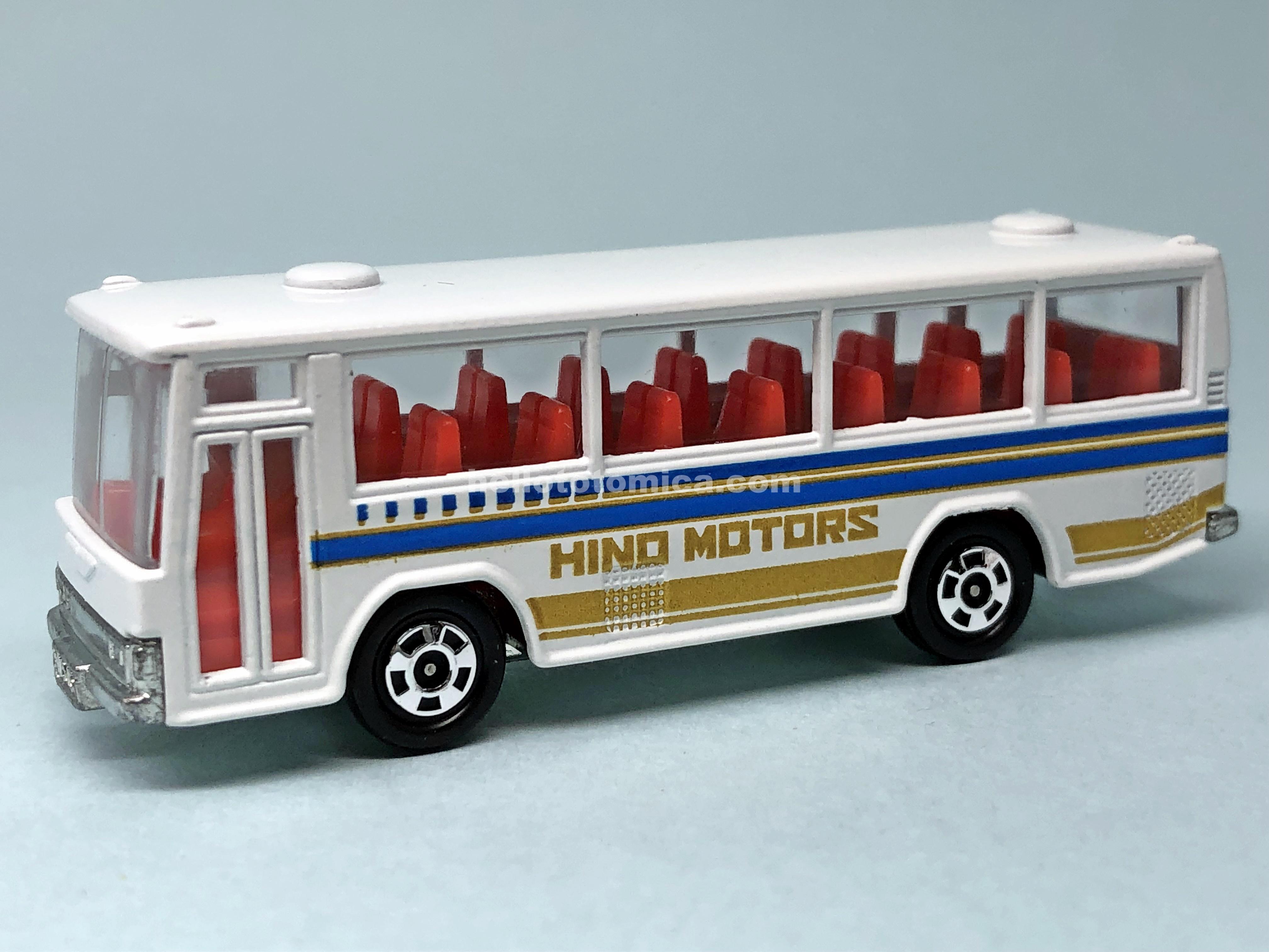 41-3 HINO SKELETON RAINBOW BUS
