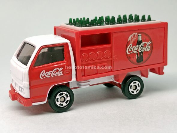 112-1 コカ・コーラ デリバリーバン はるてんのトミカ