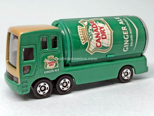 37-4 CANADA DRY EVENT TRUCK はるてんのトミカ