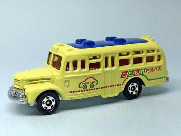 6-2 こども村 村営バス ボンネットバス はるてんのトミカ