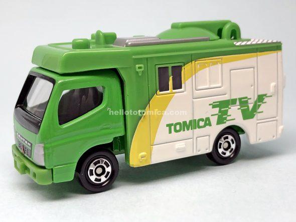 42-4 三菱ふそう キャンター テレビ中継車 はるてんのトミカ