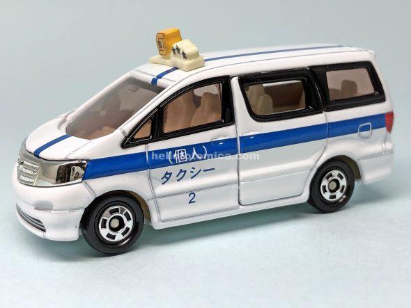 78-7 トヨタ アルファード 個人タクシー はるてんのトミカ