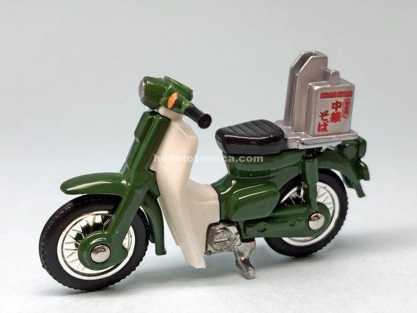 6-6 ホンダ スーパーカブ ラーメン出前バイク はるてんのトミカ