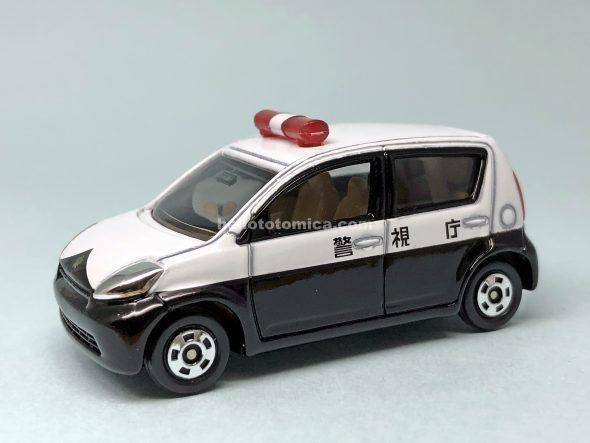 82-4 トヨタ パッソ パトロールカー はるてんのトミカ