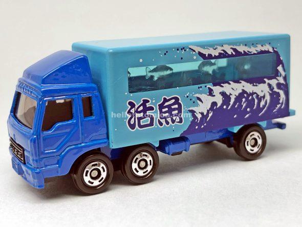 69-5 三菱ふそう 活魚運搬トラック はるてんのトミカ