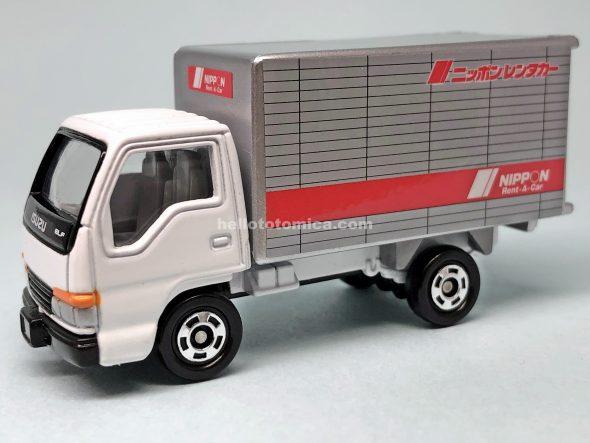 83-4 いすゞ エルフ ニッポンレンタカー はるてんのトミカ