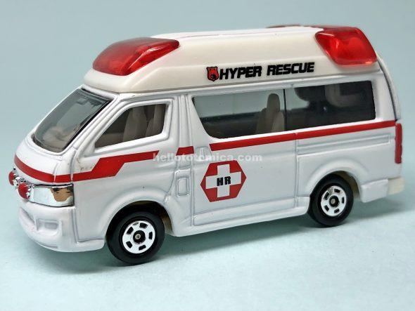 79-4 ハイパーレスキュー ハイメディック救急車 はるてんのトミカ