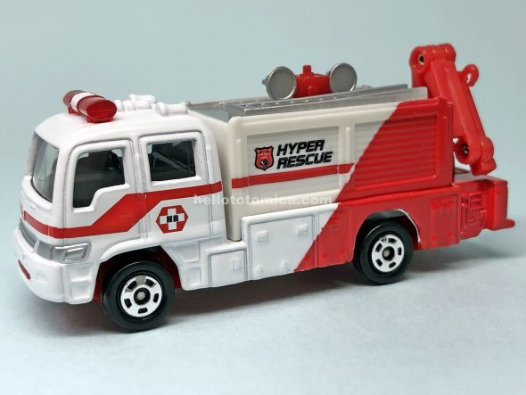 74-6 RESCUE TRUCK III TYPE はるてんのトミカ
