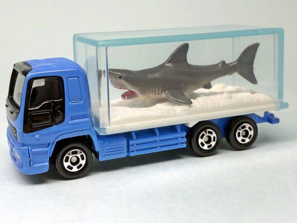 76-5 いすゞ ギガ(ホオジロザメ) はるてんのトミカ