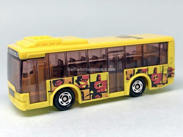 93-5 三菱ふそう エアロスター Mr.インクレディブル ラッピングバス はるてんのトミカ