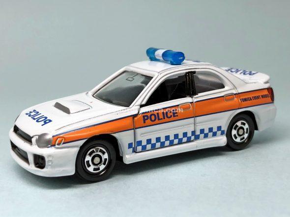 54-8 スバル インプレッサ WRX(パトロールカー仕様) ★No.01 はるてんのトミカ