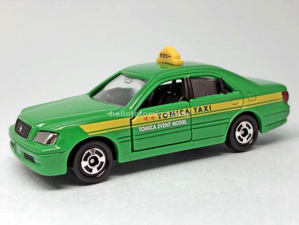 92-4 トヨタ クラウン タクシー ★No.02 はるてんのトミカ