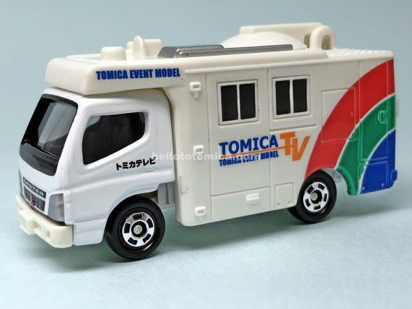 42-4 TV中継車 ★No.10 はるてんのトミカ
