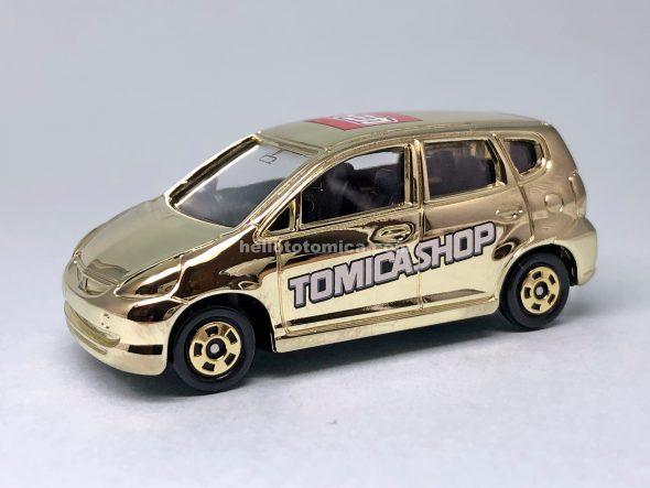 100-3 Honda フィット 金メッキバージョン はるてんのトミカ
