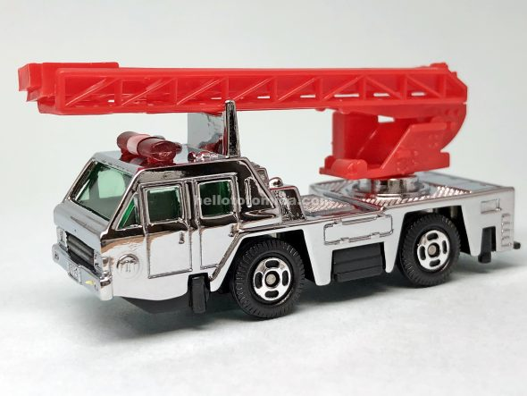 22-4 NISSAN DIESEL AERIAL LADDER FIRE TRUCK はるてんのトミカ