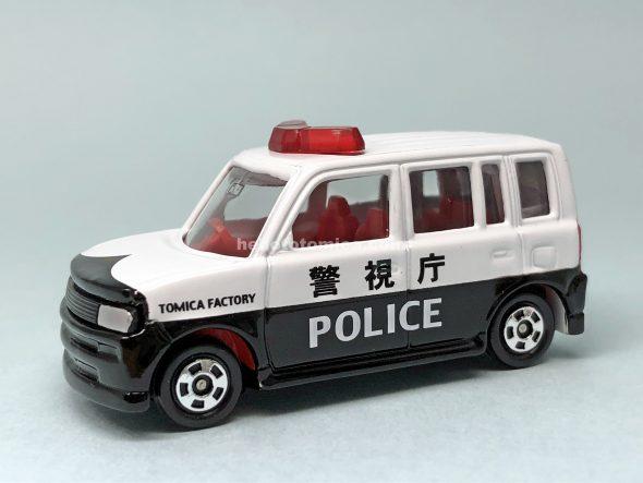 5-4 トヨタ bB パトロールカー 赤シート はるてんのトミカ