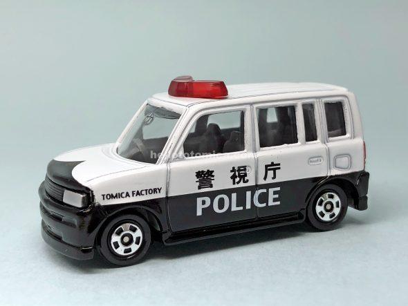 5-4 トヨタ bB パトロールカー 灰シート はるてんのトミカ
