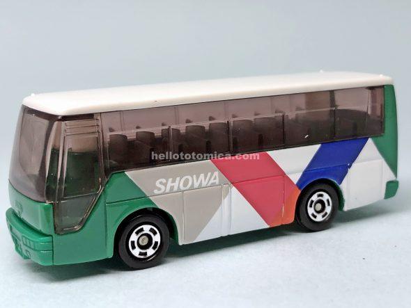 41-4 いすゞ スーパーハイデッカーバス 昭和自動車バス はるてんのトミカ