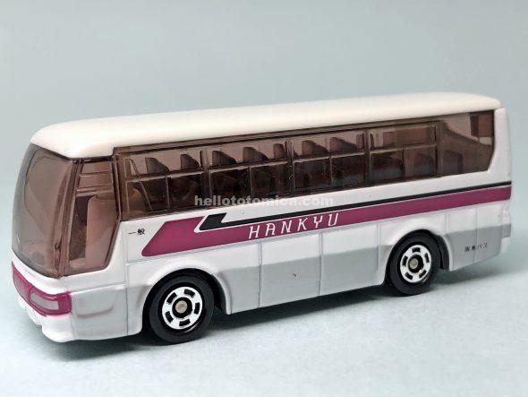 1-4 三菱ふそう エアロクイーン 阪急バス はるてんのトミカ