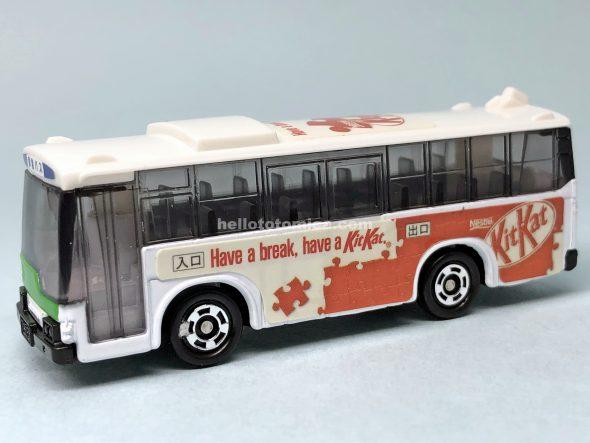 79-3 ラッピングバス キットカットバス はるてんのトミカ
