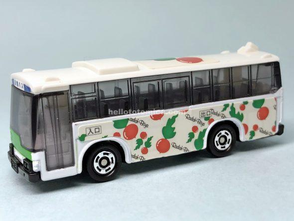 79-3 ラッピングバス らでぃっしゅぼーやバス はるてんのトミカ