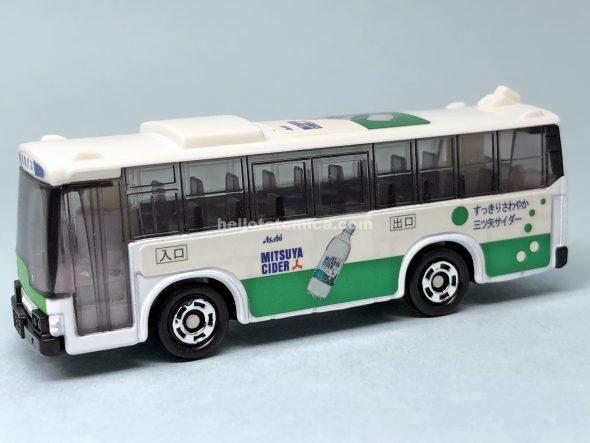 79-3 ラッピングバス 三ツ矢サイダーバス はるてんのトミカ