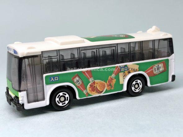79-3 ラッピングバス ハインツトマトケチャップバス はるてんのトミカ