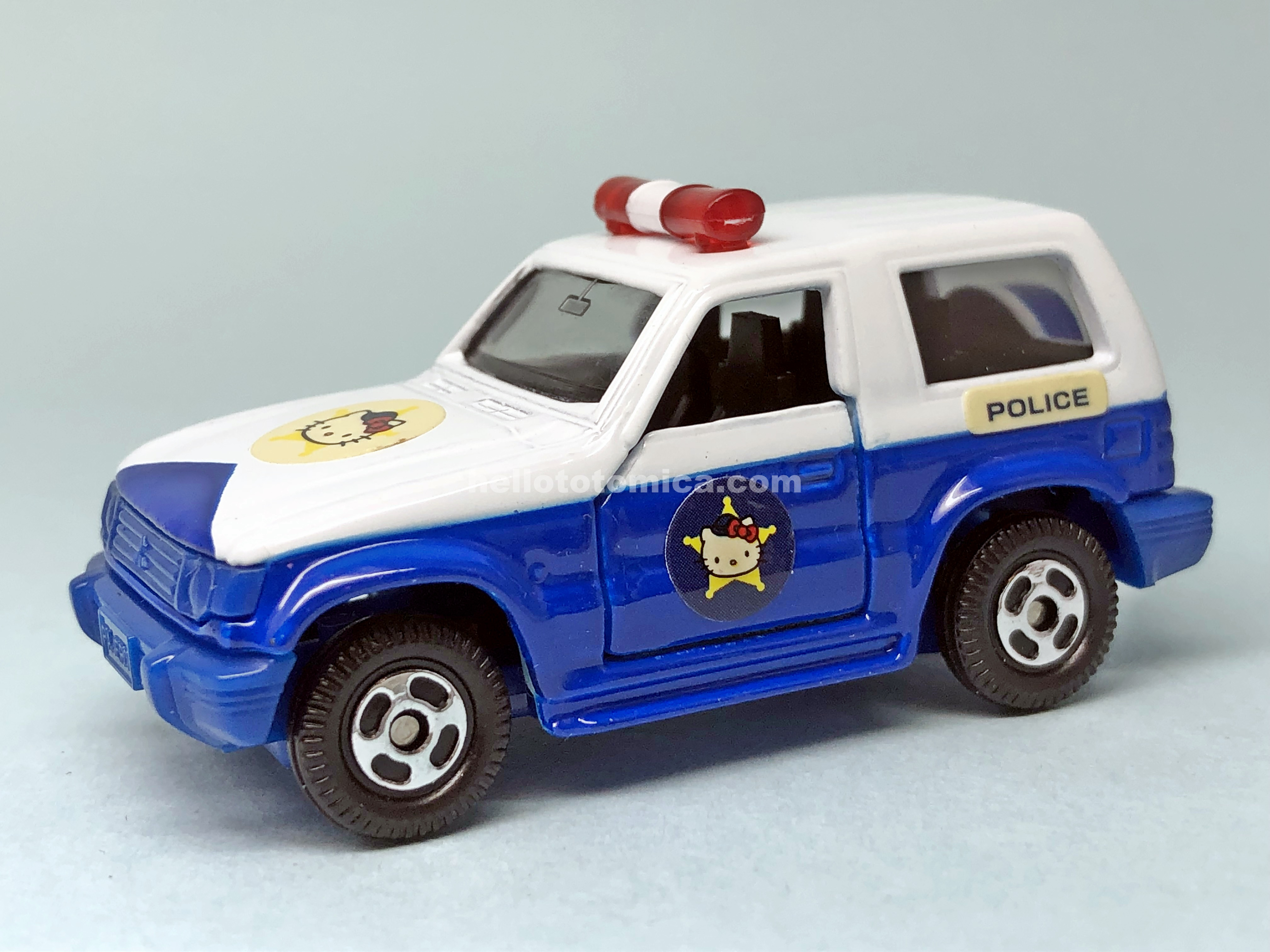 106-3 MITSUBISHI PAJERO PATROL CAR