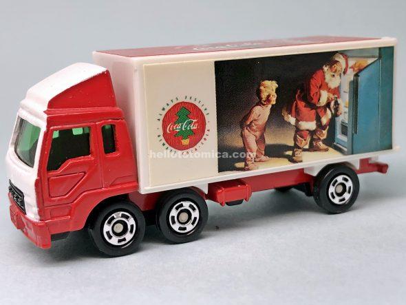 7-3 コカ・コーラ 冷凍車 はるてんのトミカ