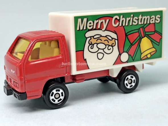 98-3 クリスマスバージョン パネルトラック はるてんのトミカ