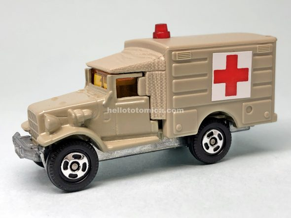 67-2 トヨタ HQ15V 自衛隊救急車 はるてんのトミカ