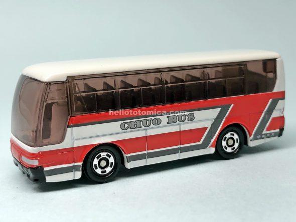 1-4 三菱ふそう エアロクイーン 北海道中央バス はるてんのトミカ