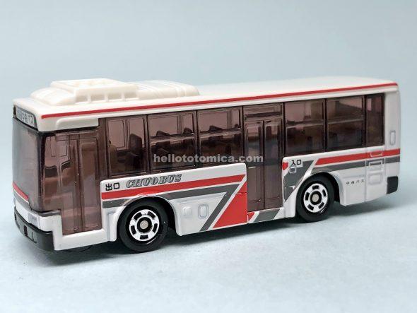 93-5 三菱ふそう エアロスター 北海道中央バス はるてんのトミカ
