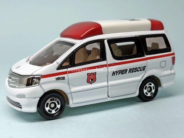78-7 ハイパーレスキュー 機動救急車 はるてんのトミカ