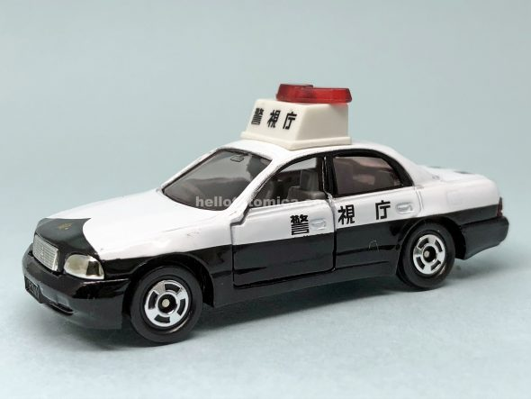 36-4 TOYOTA CROWN MAJESTA PATROL CAR はるてんのトミカ
