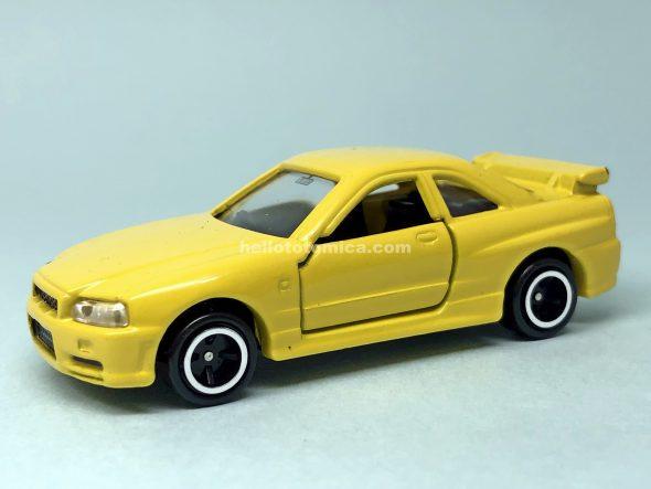 20-8 スカイライン GT-R R34 ロードカー はるてんのトミカ