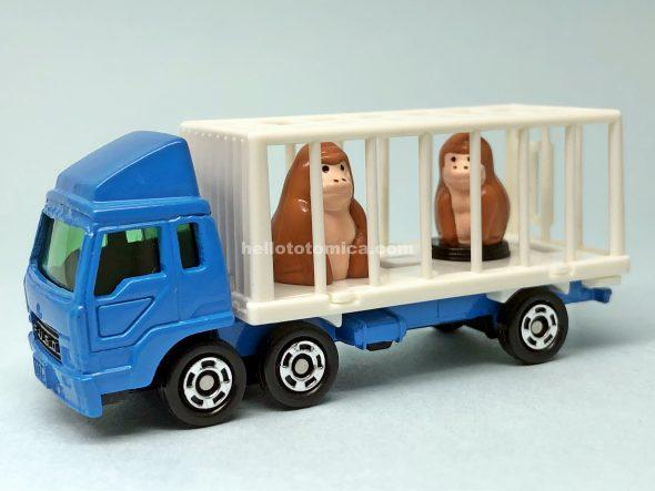 108-3 三菱ふそう 動物運搬車 はるてんのトミカ