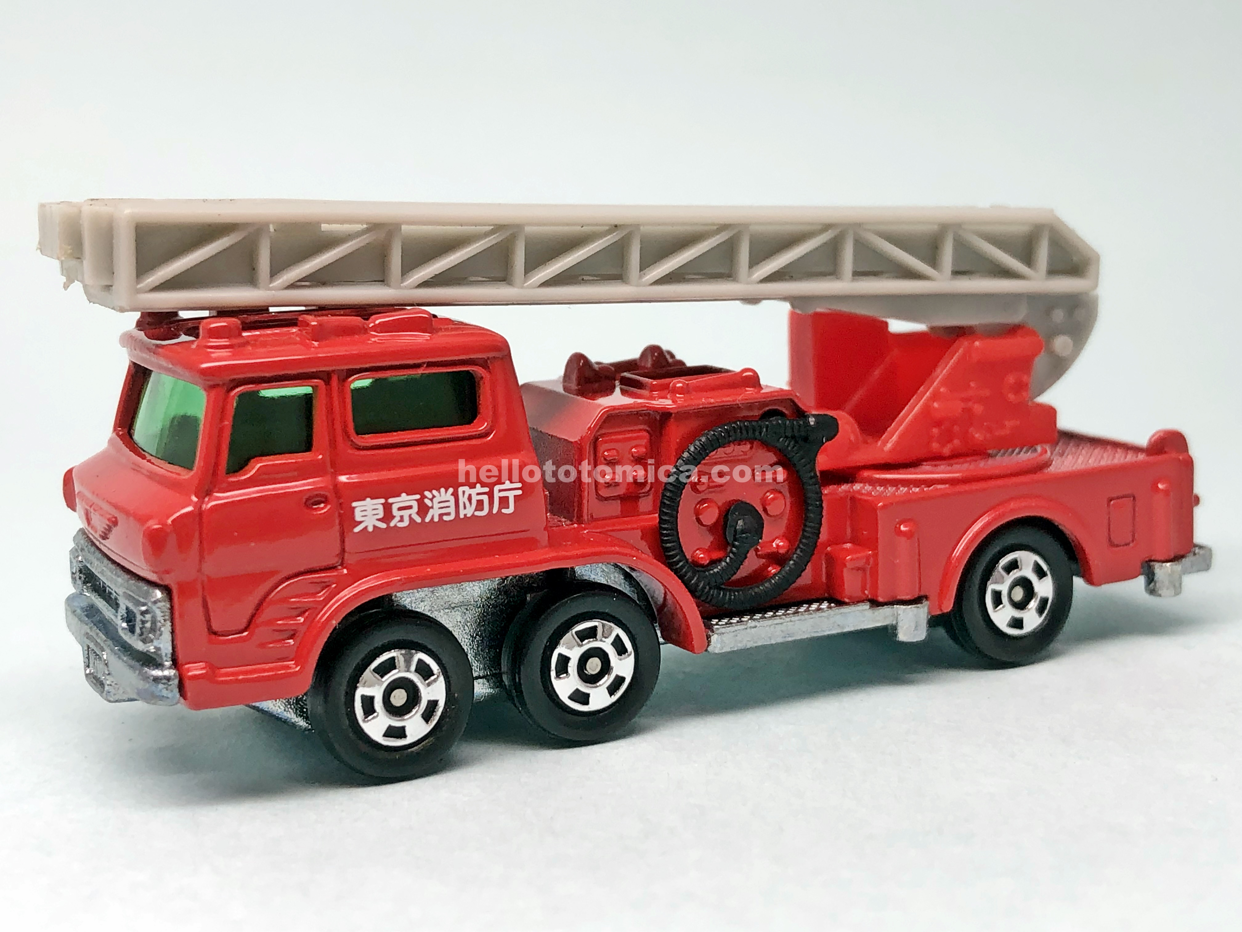 29-2 HINO AERIAL LADDER FIRE TRUCK