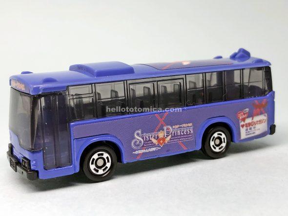 79-3 シスタープリンセス ラッピングバス(咲耶バス) はるてんのトミカ