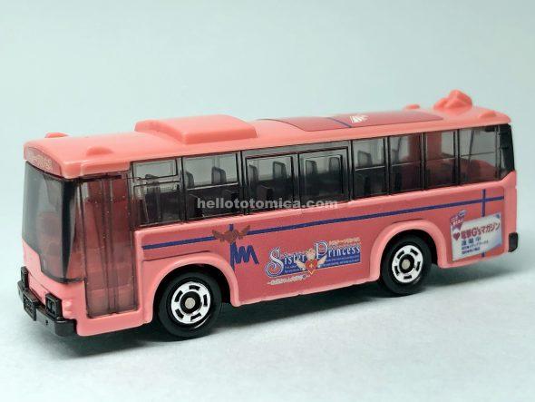 79-3 シスタープリンセス ラッピングバス(雛子バス) はるてんのトミカ
